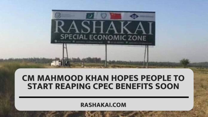 CM Mahmood Khan hopes people to start reaping CPEC benefits soon