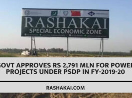 Govt approves Rs 2,791 mln for power projects under PSDP in FY-2019-20