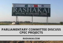 Parliamentary Committee Discuss CPEC Projects