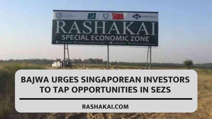 Bajwa urges Singaporean investors to tap opportunities in SEZs 1