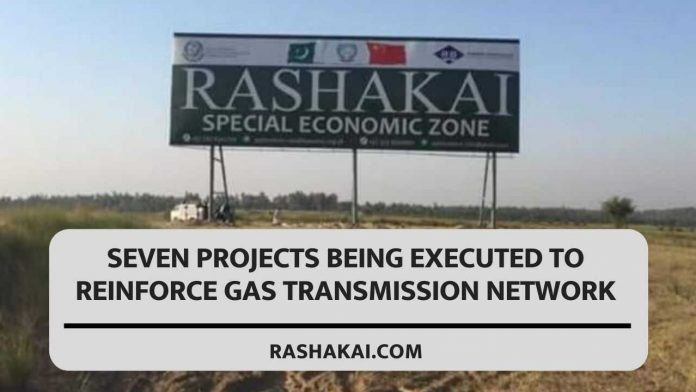Seven Projects Being Executed To Reinforce Gas Transmission Network 1